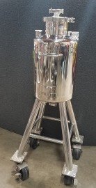 Alloy Products 30 Liter Stainless Tank On Wheels