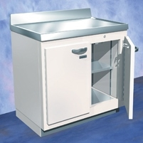 Biodex Medical Lead Lined Base Module Enclosure