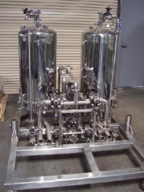 Cuno Filtration Skid
