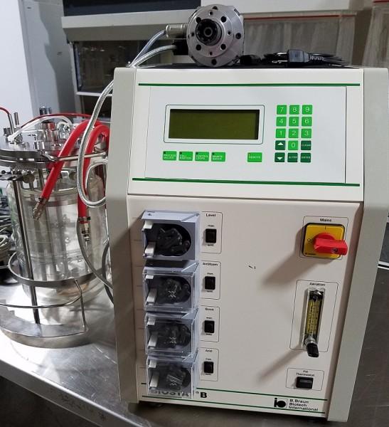 B Braun Biostat B Laboratory Fermenter Labtrader Inc