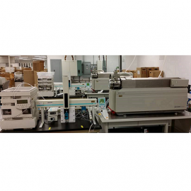 LC/MS QQQ Liquid Chromatography linked to Triple Quad Mass Spectrometry