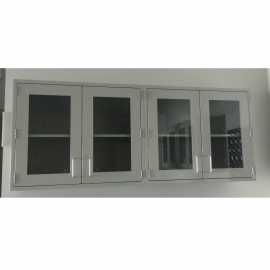 Glass Door Metal Wall Cabinets